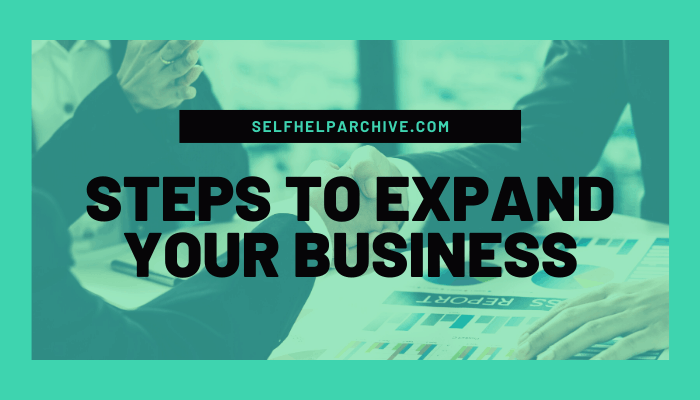 Steps to expand your business