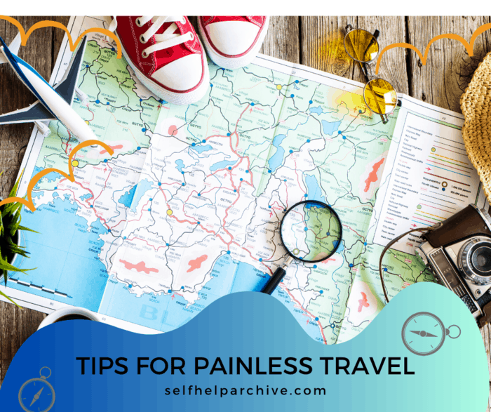 Tips for painless travel